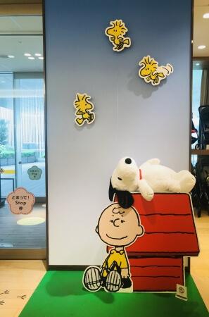 銀座三越 スヌーピー Ginza snoopy_5