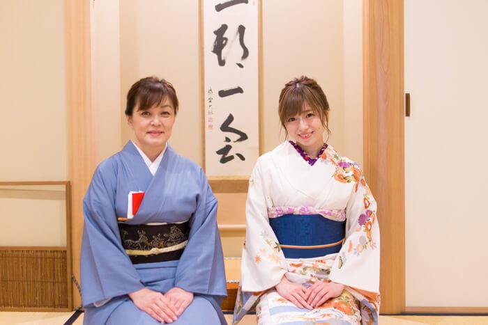 SILENT SIREN ゆかるん 茶道 着物 kimono omotesando669