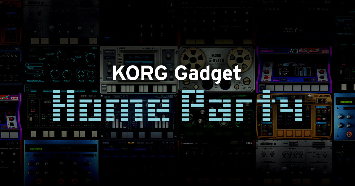 KORG Gadget Home Party event_image