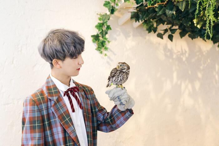 原宿「フクロウのお庭」 Harajuku owl107