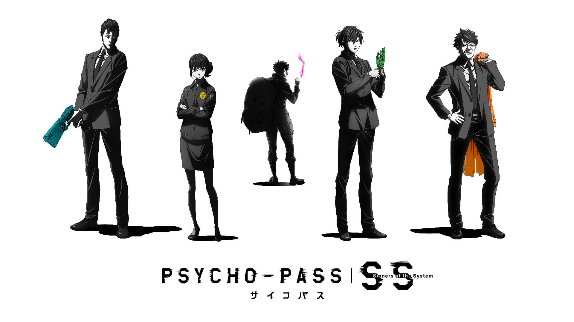Psycho Pass Three Movies Focusing On Five Characters Will Be