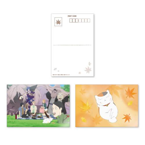 夏目友人帳 Natsume's Book of Friends コラボカフェ cafe_postcard