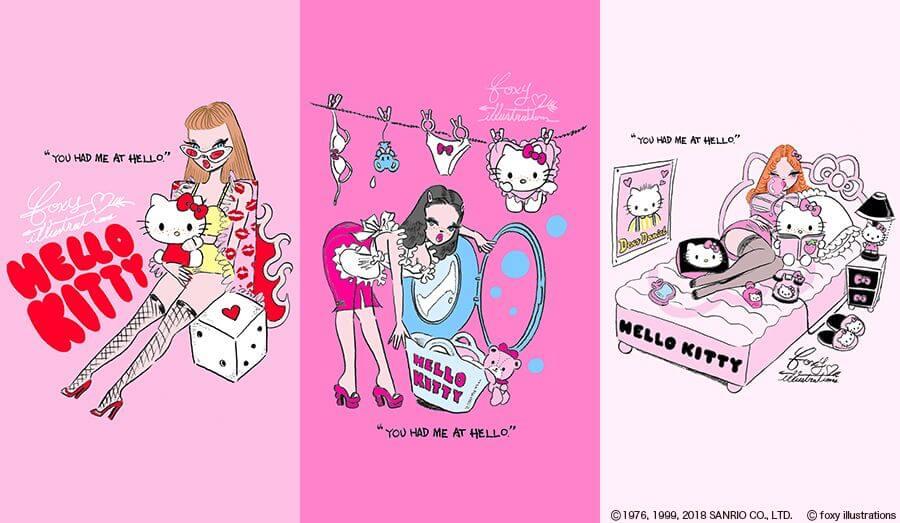 Hello Kitty ハローキティ凱蒂猫 foxy _1