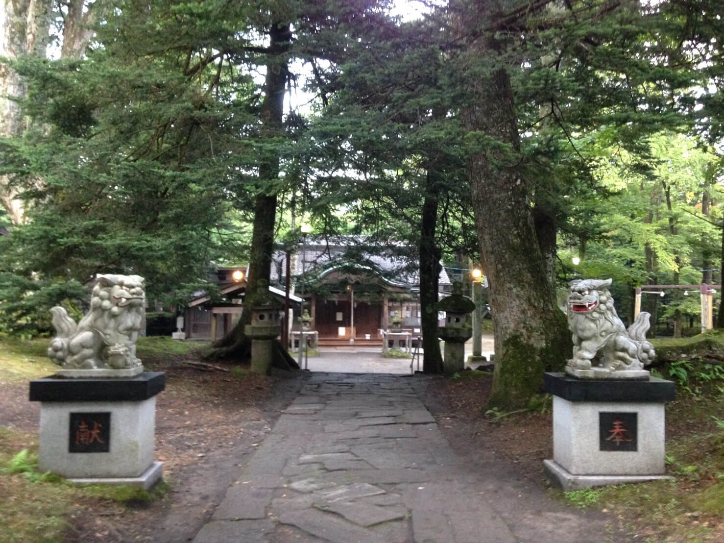 軽井沢 karuizawa 諏訪神社 suwa shrine