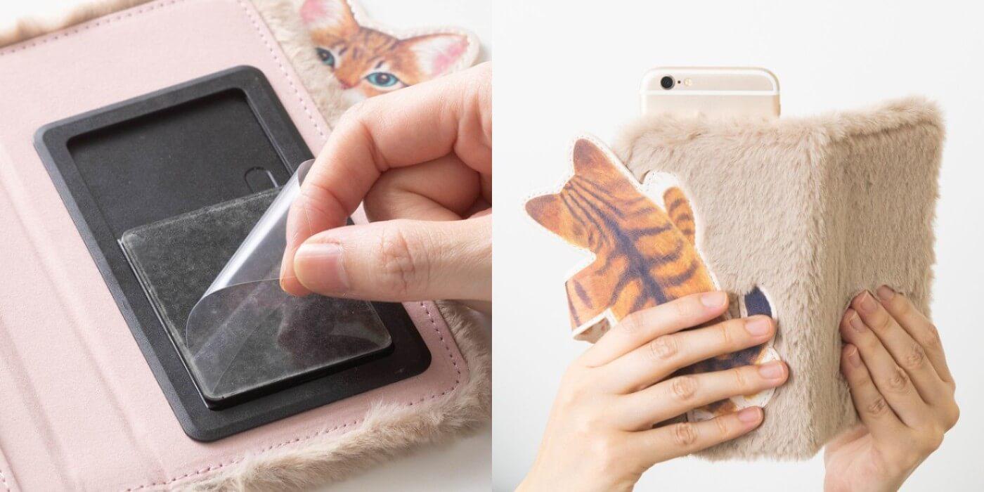 フェリシモ猫部™ cats Smart phone case スマフォケース5