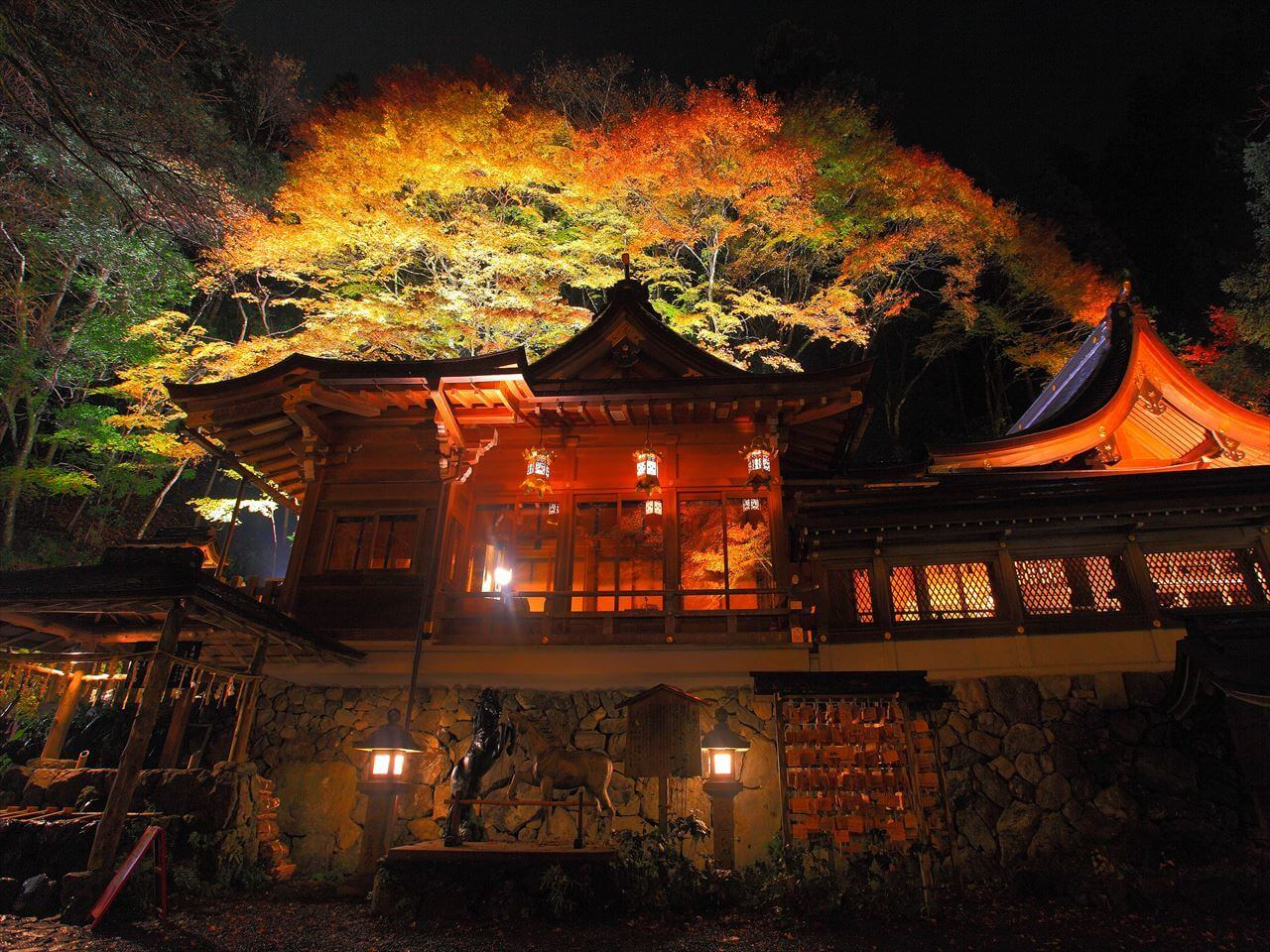 京都 貴船神社 Kyoto Kifune Shrine 紅葉 Autumn color_3