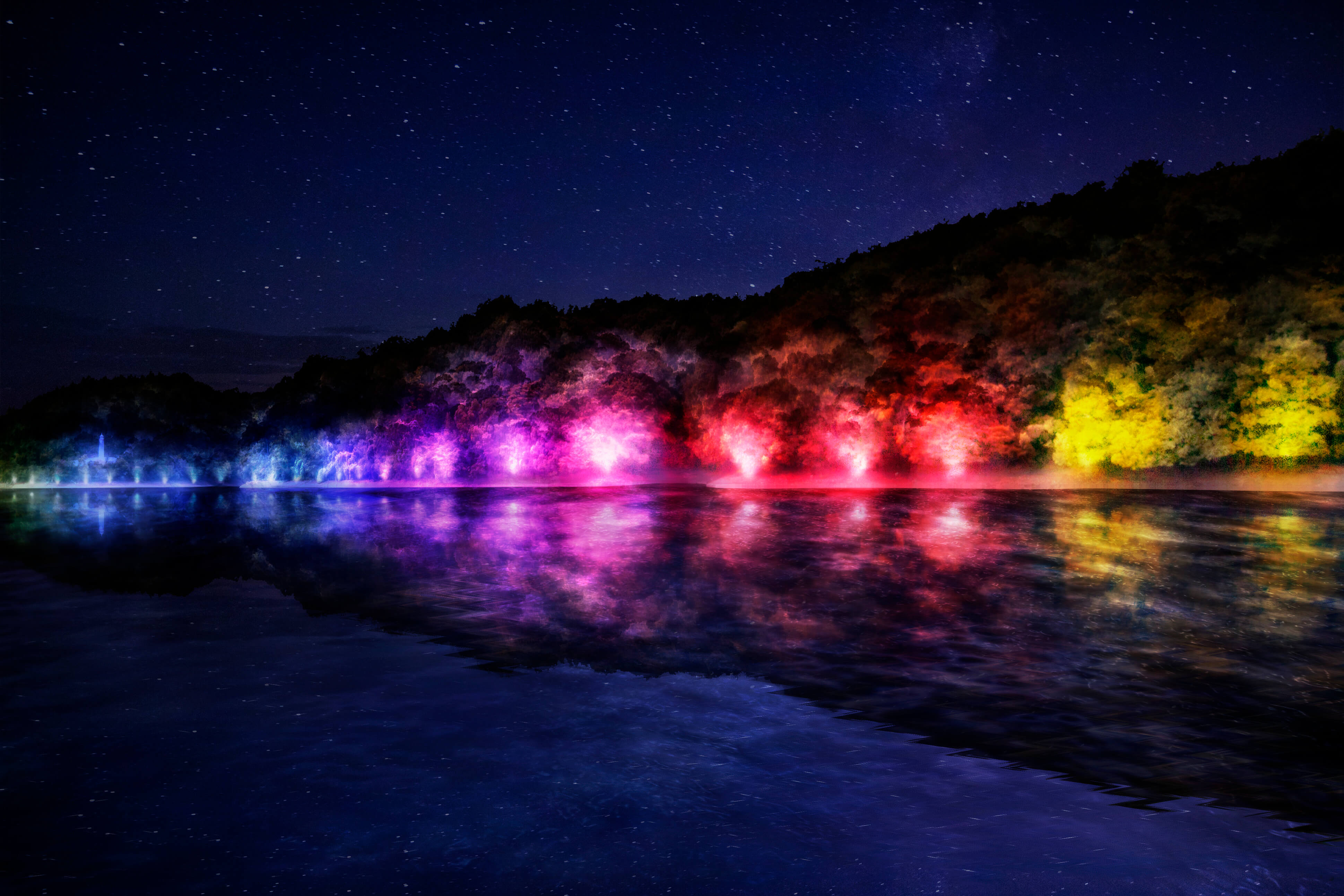 チームラボ 森と湖の光の祭 Team LABO.jpg2