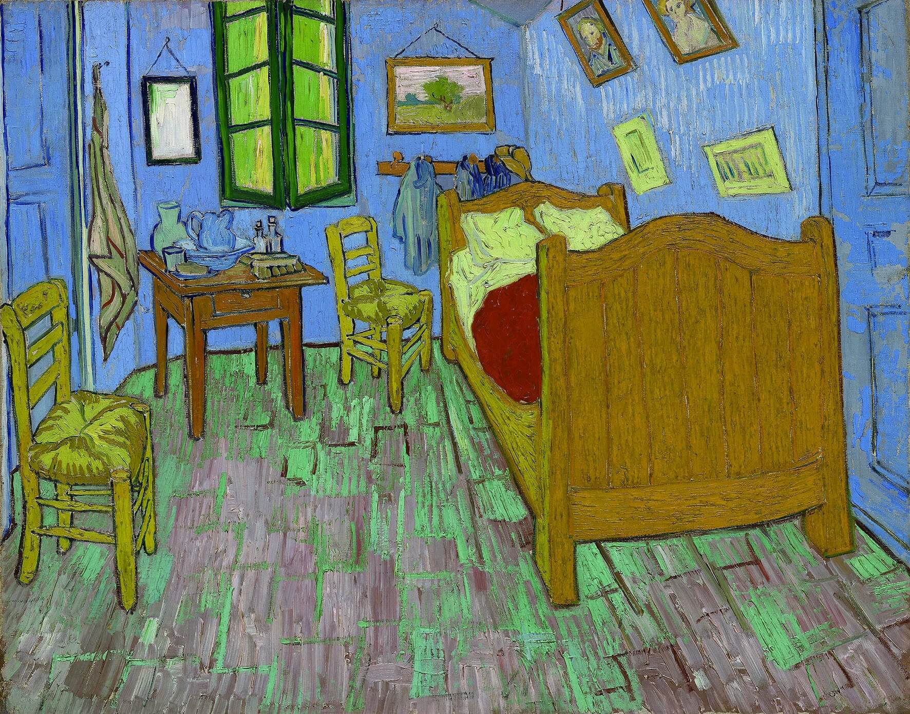 Bebe Un Latte Art De Van Gogh Claude Monet Y Las Famosas