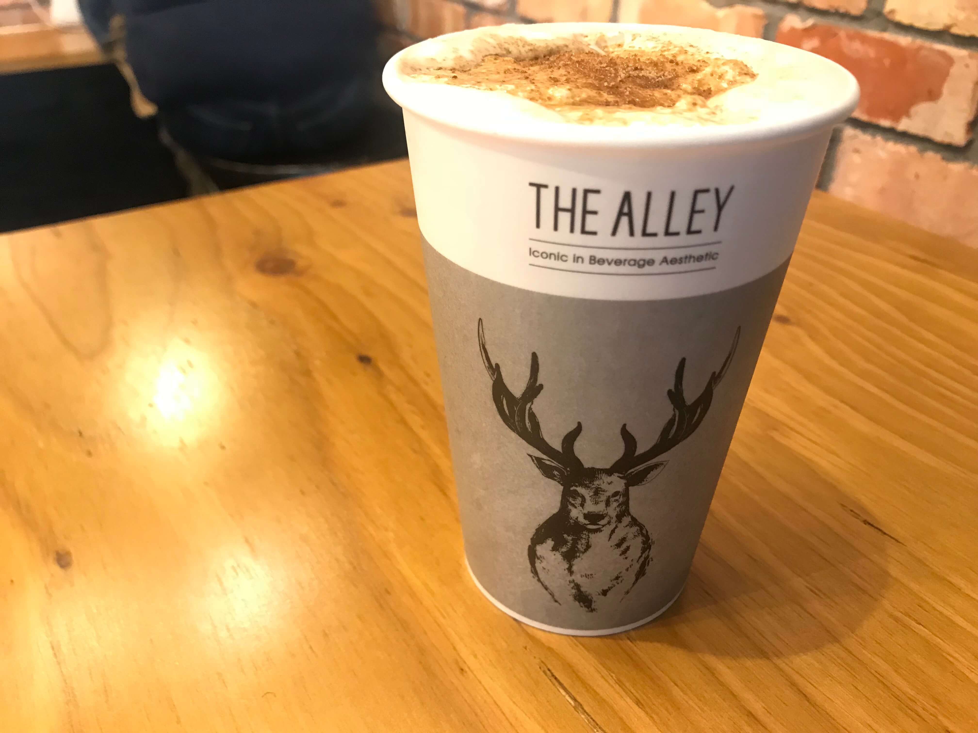Review: Trying the New Cheese Tea at The Alley in Omotesando