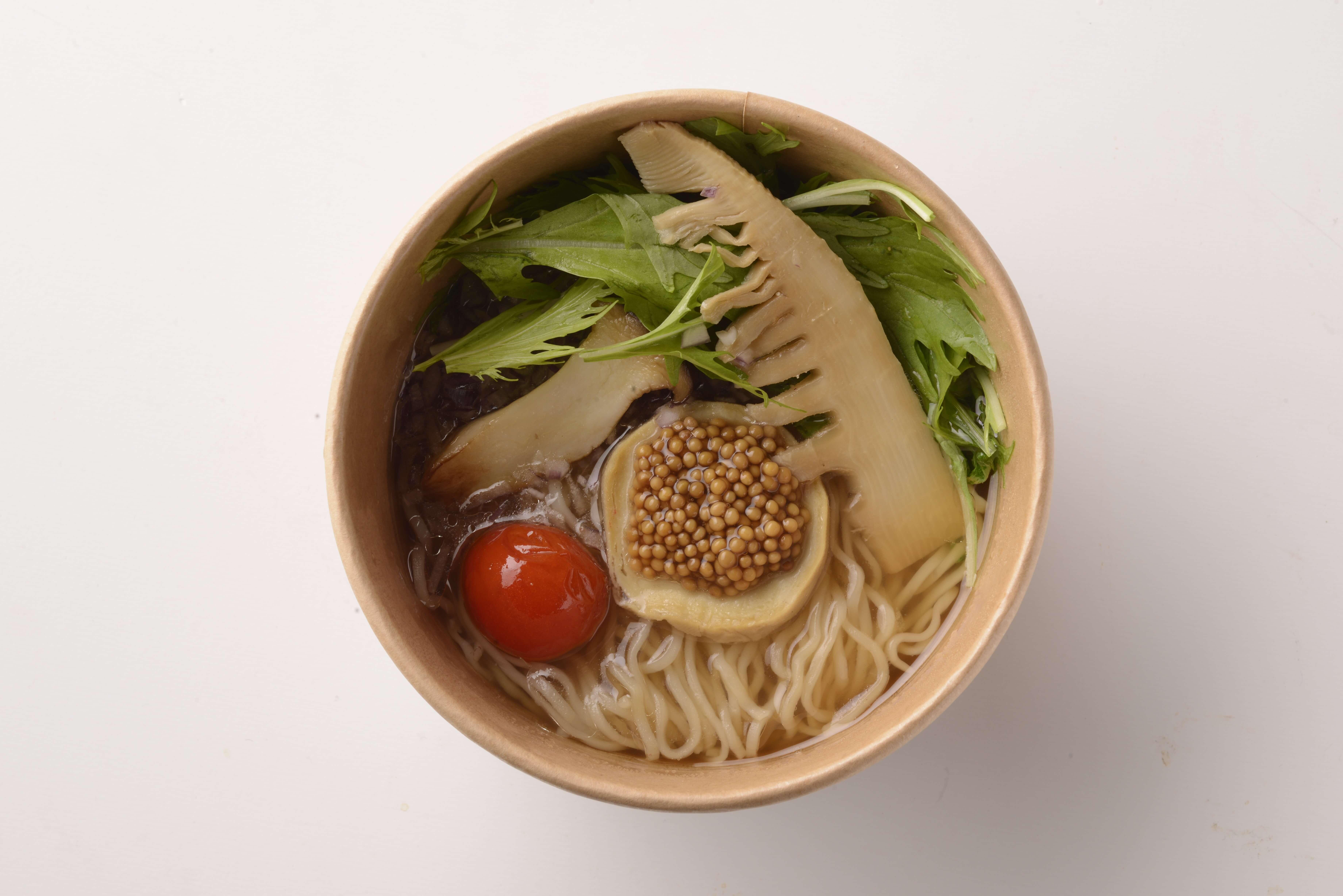 ラフォーレ原宿 ご飯 テイクアウト laforet harajuku chinese 中華料理 Chipoon 地プーン_ヴィーガンヌードル