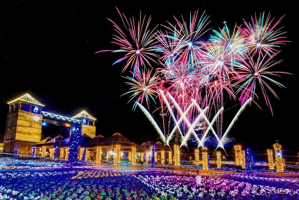 ぐんまフラワーパーク Gunma flower park illumination 群馬