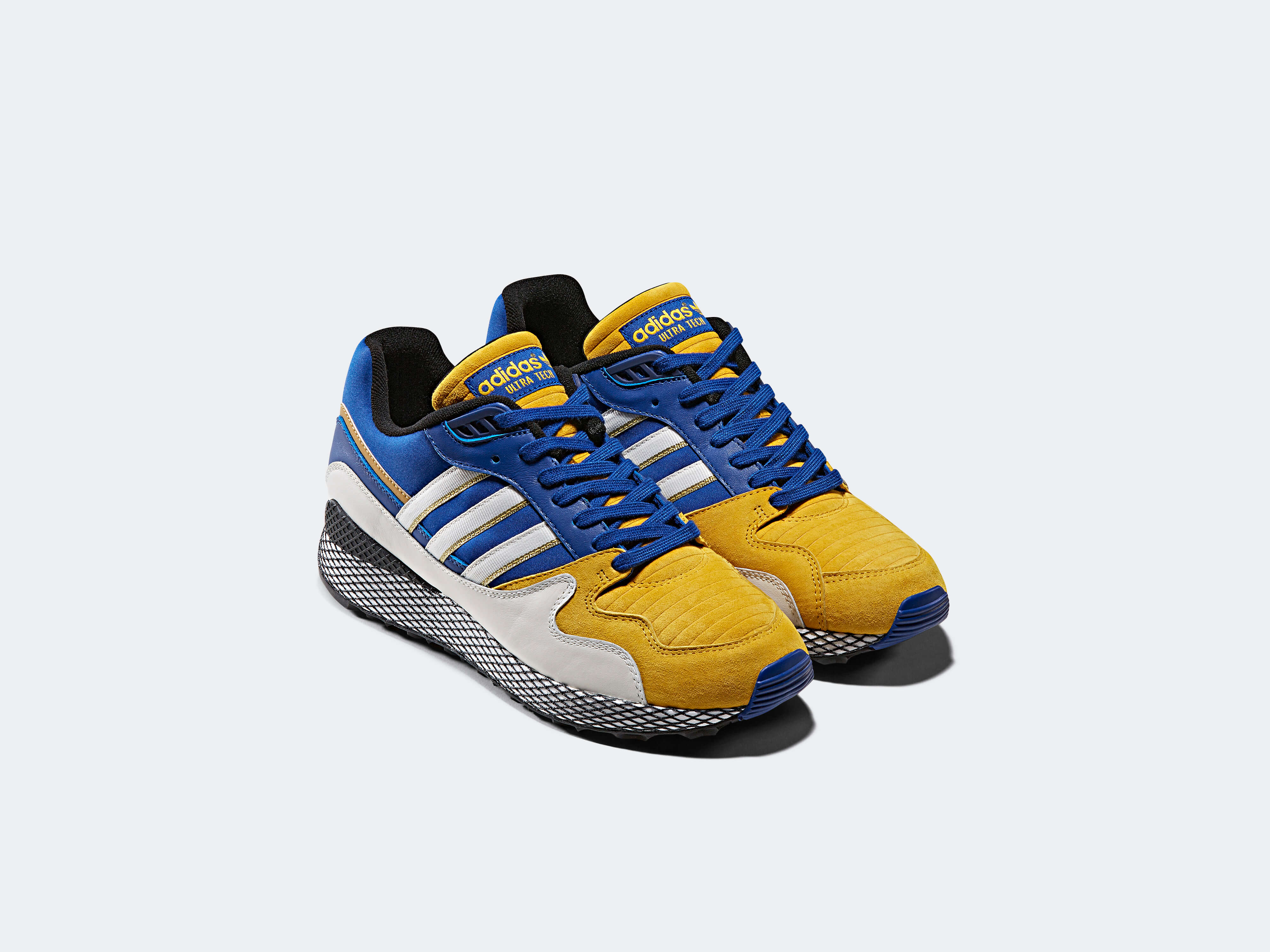brand new 9a155 5fa07 Vegeta & Majin Buu adidas Originals by Dragon Ball Z to be ...
