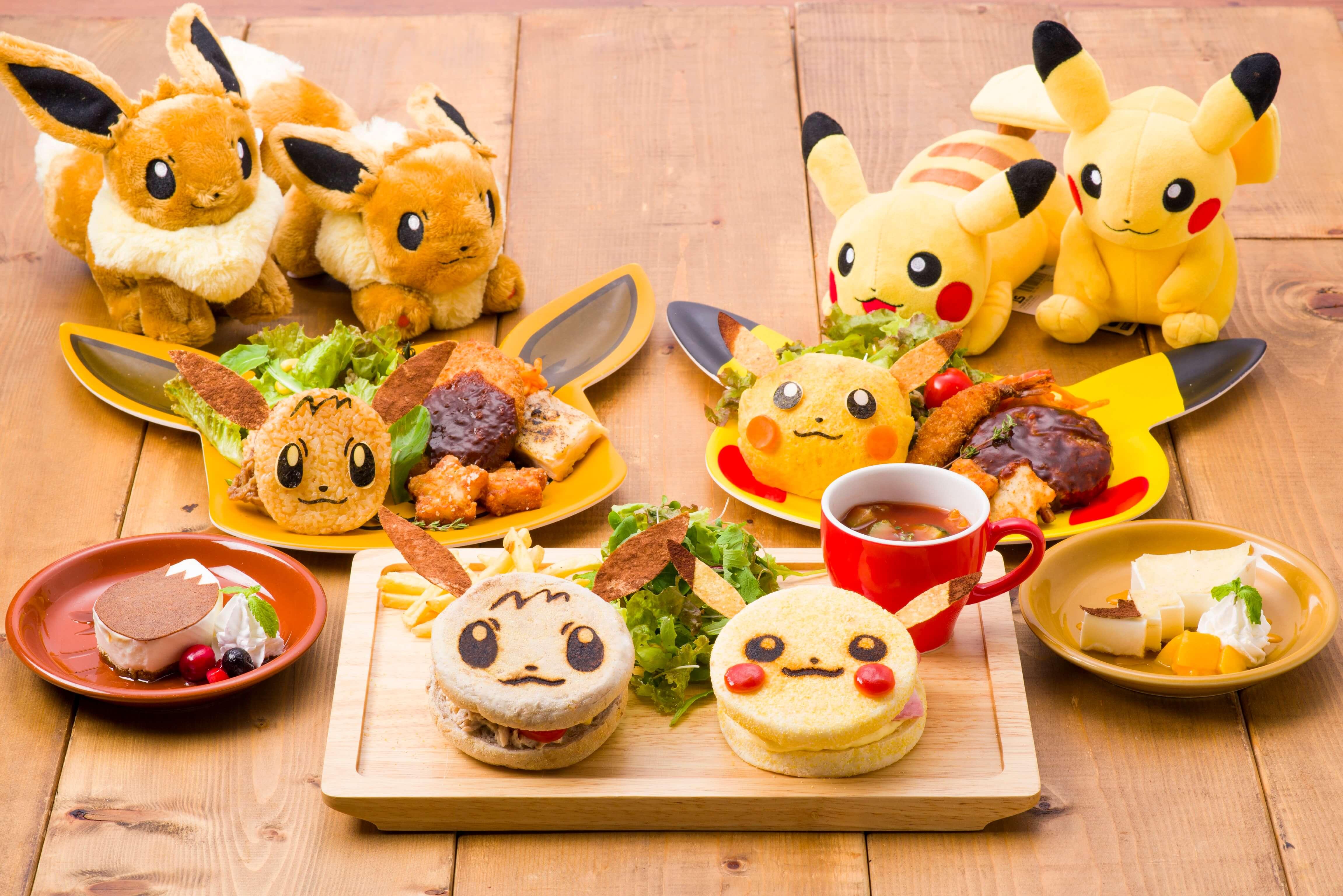 日本橋ポケモンカフェ Pokemon cafe 精靈寶可夢咖啡廳