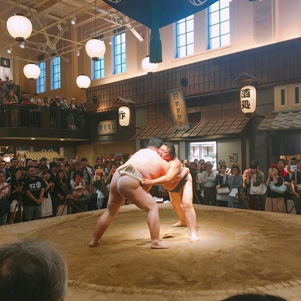 江戸NOREN 両国 相撲 EDONOREN SUMOU
