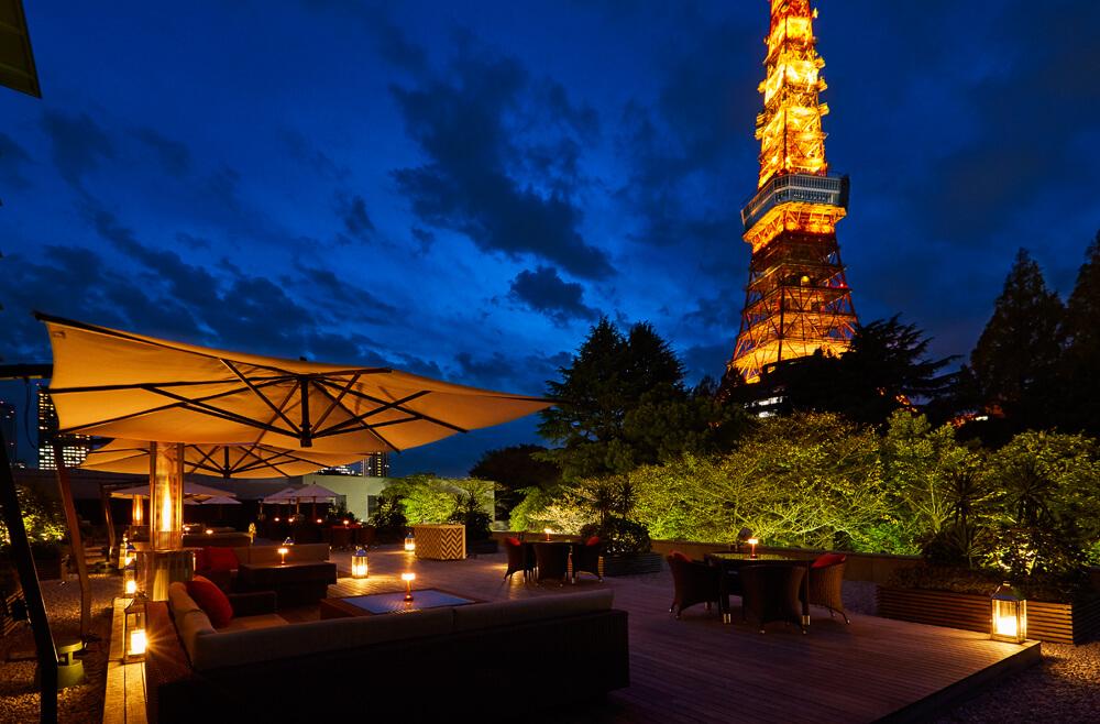 東京プリンスホテル タワービューテラス Tokyo prince hotel towerview terrace