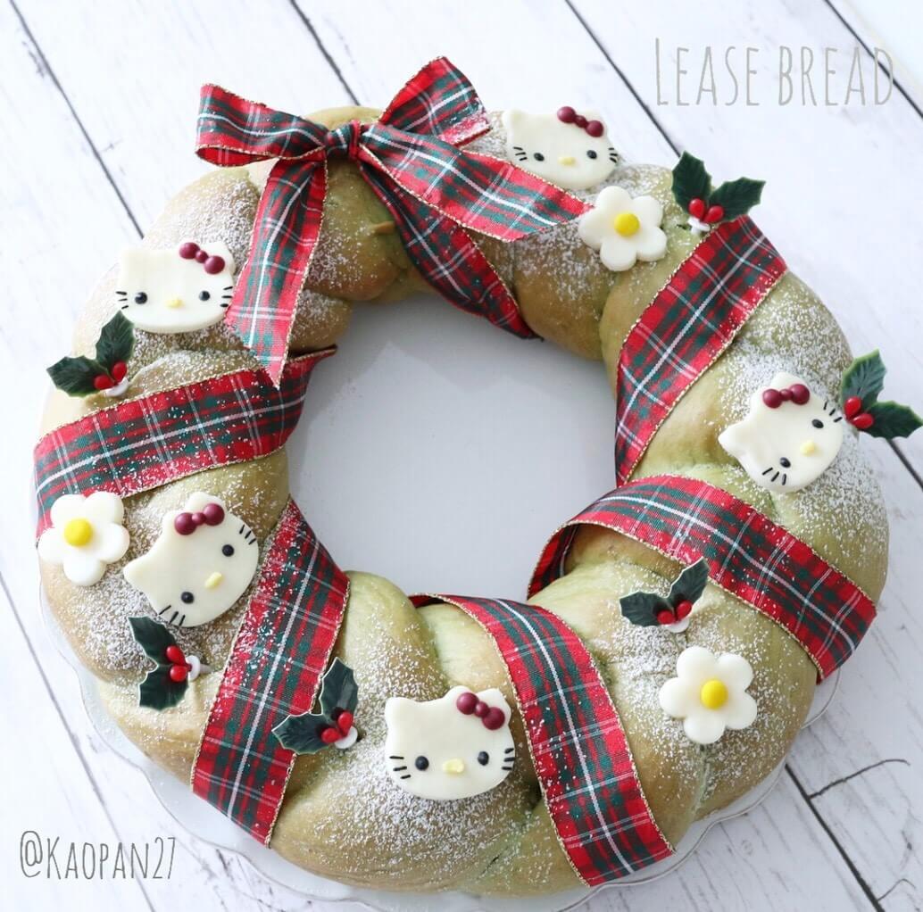 キティ スイーツ レシピ Kitty Sweets Recipe 凱蒂猫 甜點 食譜 クリスマス christmas 聖誕節