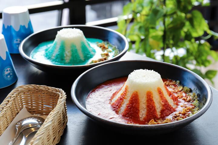富士山LAVA CAFE 富士山カレー fuji mountain curry4