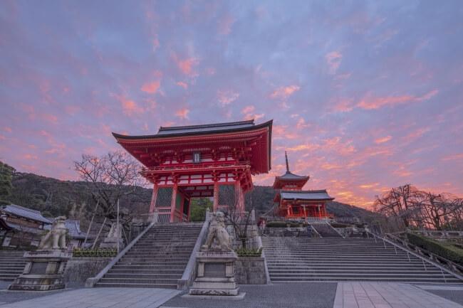 清水寺 kiyomizu 春はあけぼのツアー 京都 kyoto