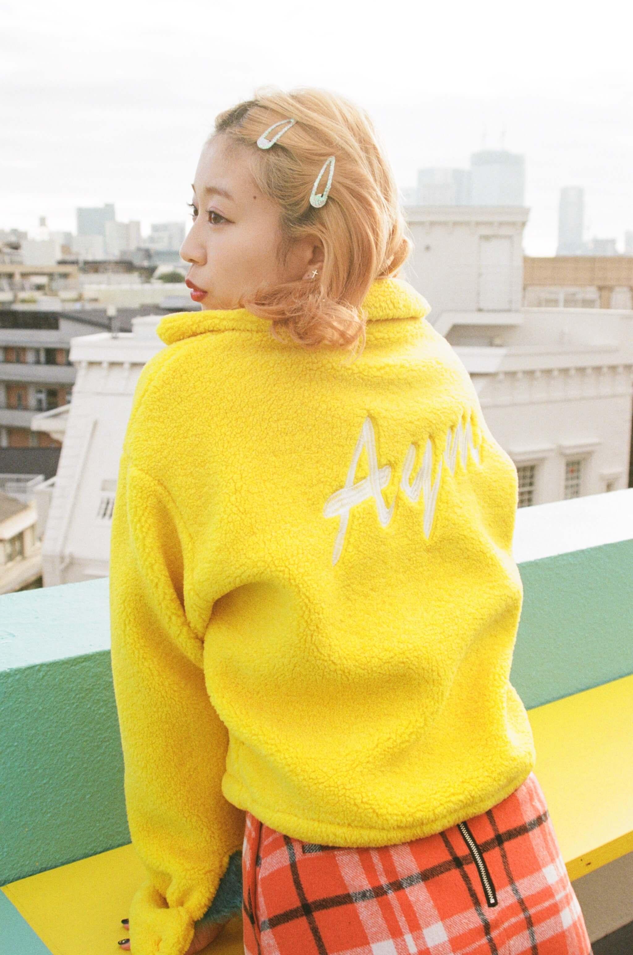 Rikako Oya 大矢梨華子 ootd fashion snap_黄色3