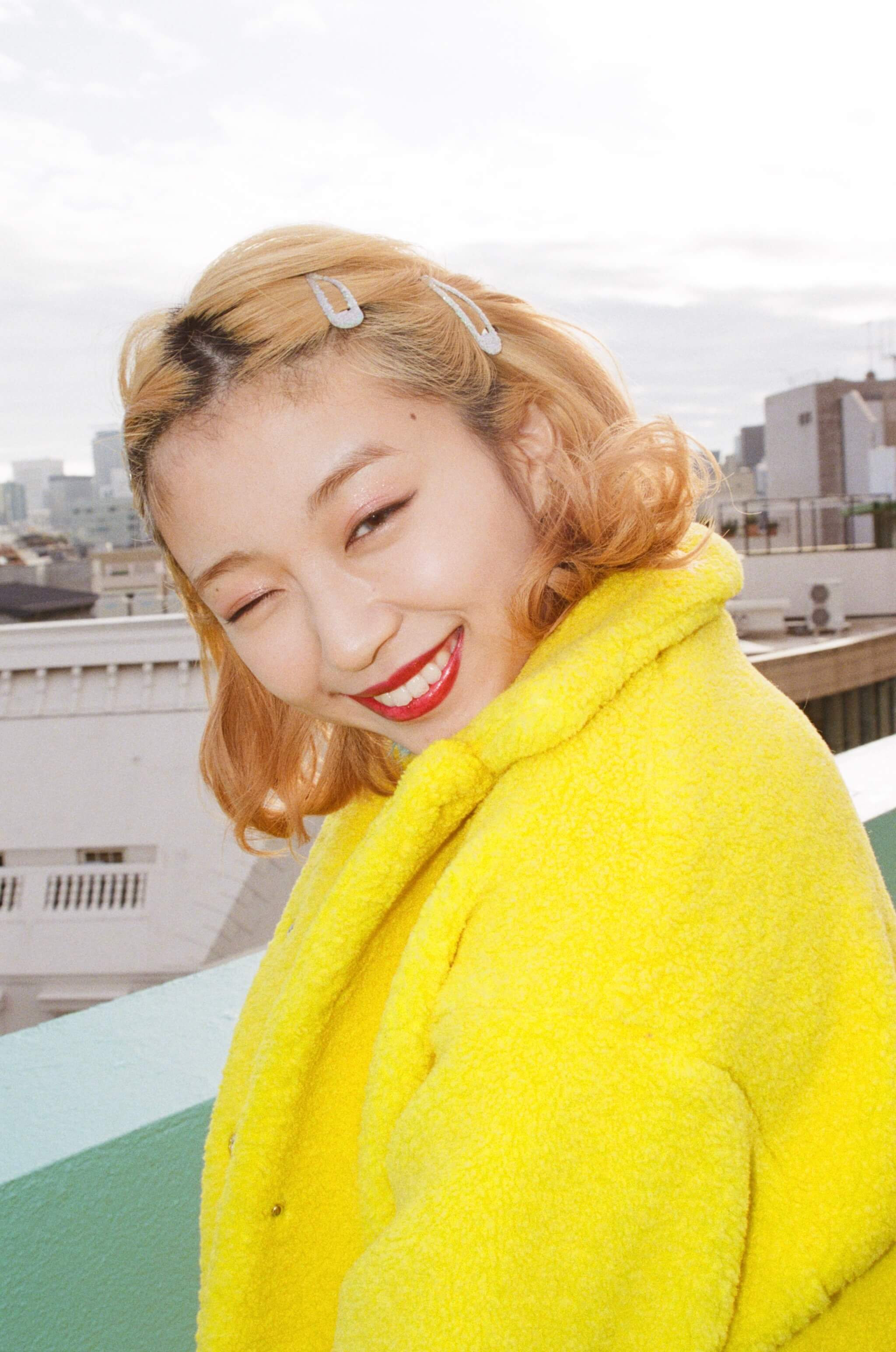 Rikako Oya 大矢梨華子 ootd fashion snap_黄色4