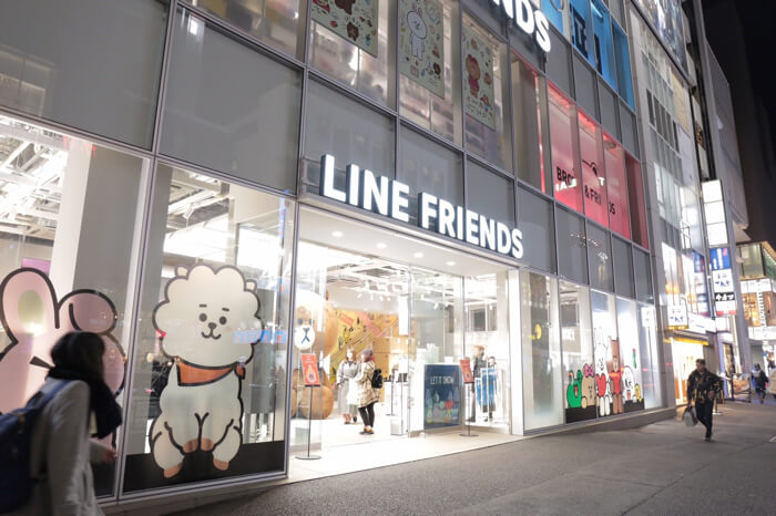 LINE FRIENDS FLAGSHIP STORE 原宿1