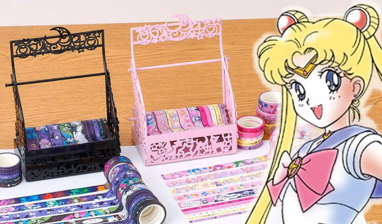 セーラームーン マスキングテープ Sailormoon-セーラームーン Sailor-moon-stationary-マスキングテープ-美少女戰士
