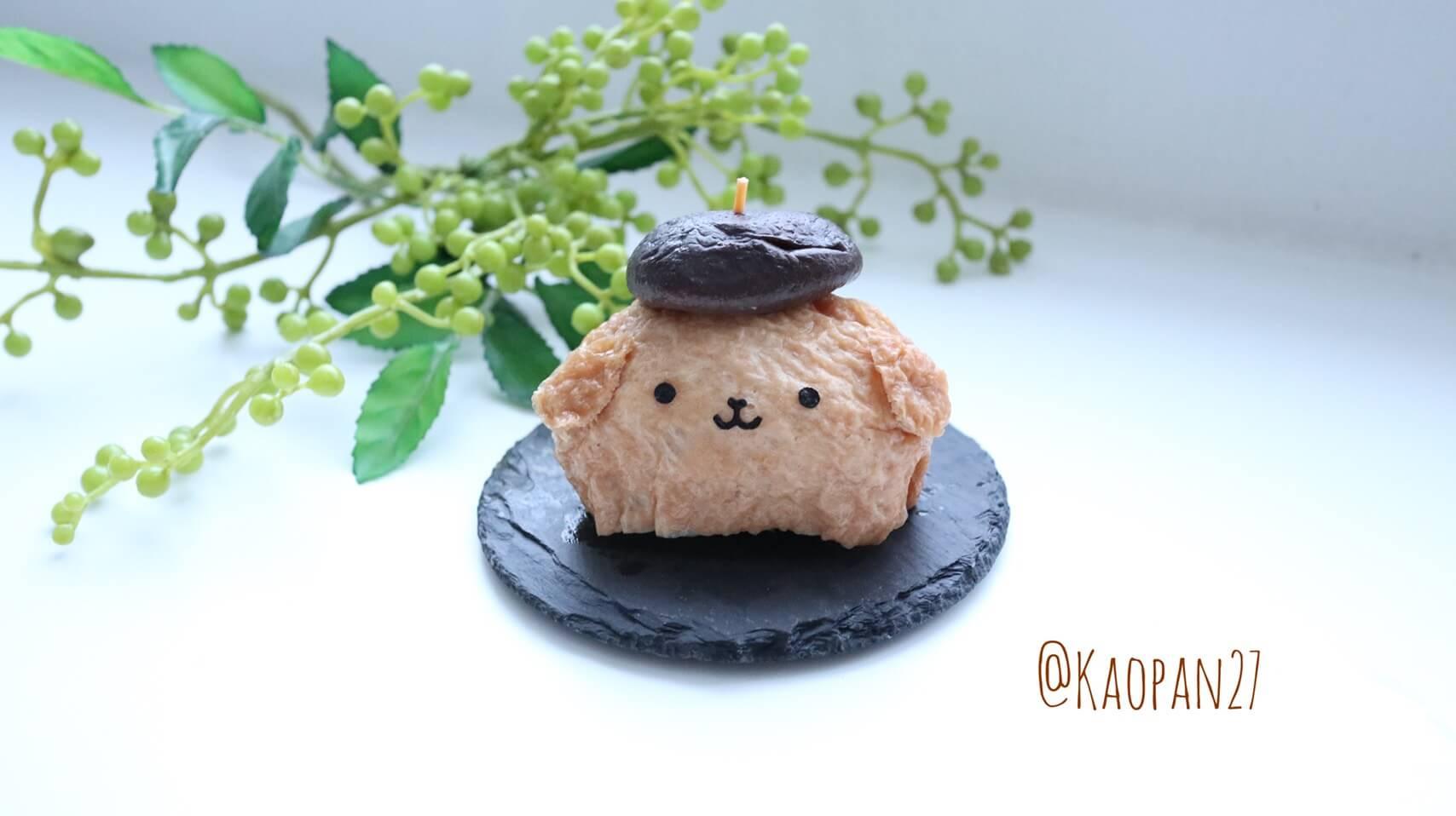 ポムポムプリン レシピ pompompurin Recipe 布丁狗 食譜7
