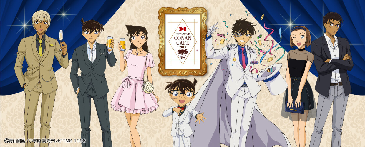 Detective Conan Café Celebrates Upcoming The Fist Of Blue