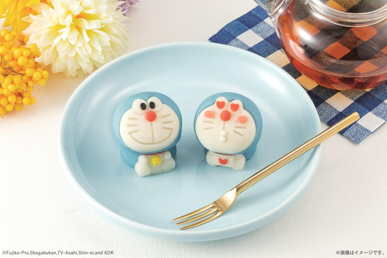 食べマス 和菓子 ドラえもん japanese sweets doraemon 哆啦A夢