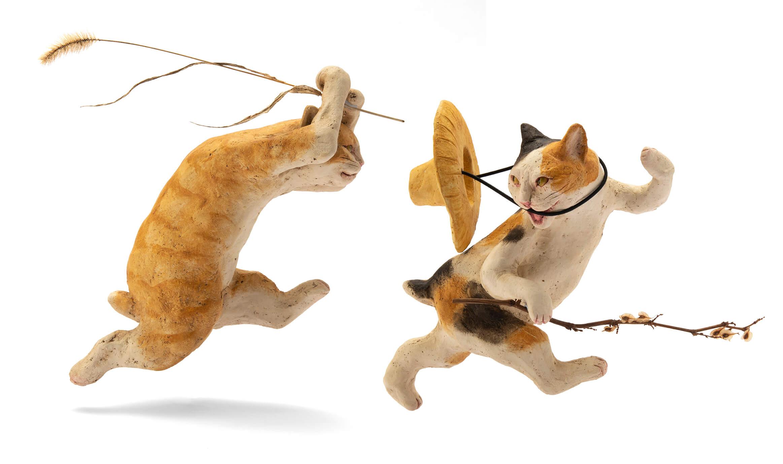 ホテル雅叙園東京 gajoen tokyo 猫 展示会 cats exhibition