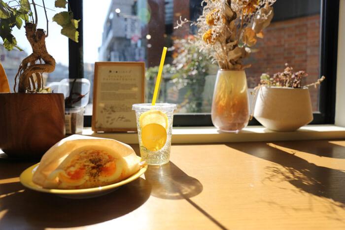 原宿 カフェ サンドイッチ 美容室 cafe harajuku salon whyte 10