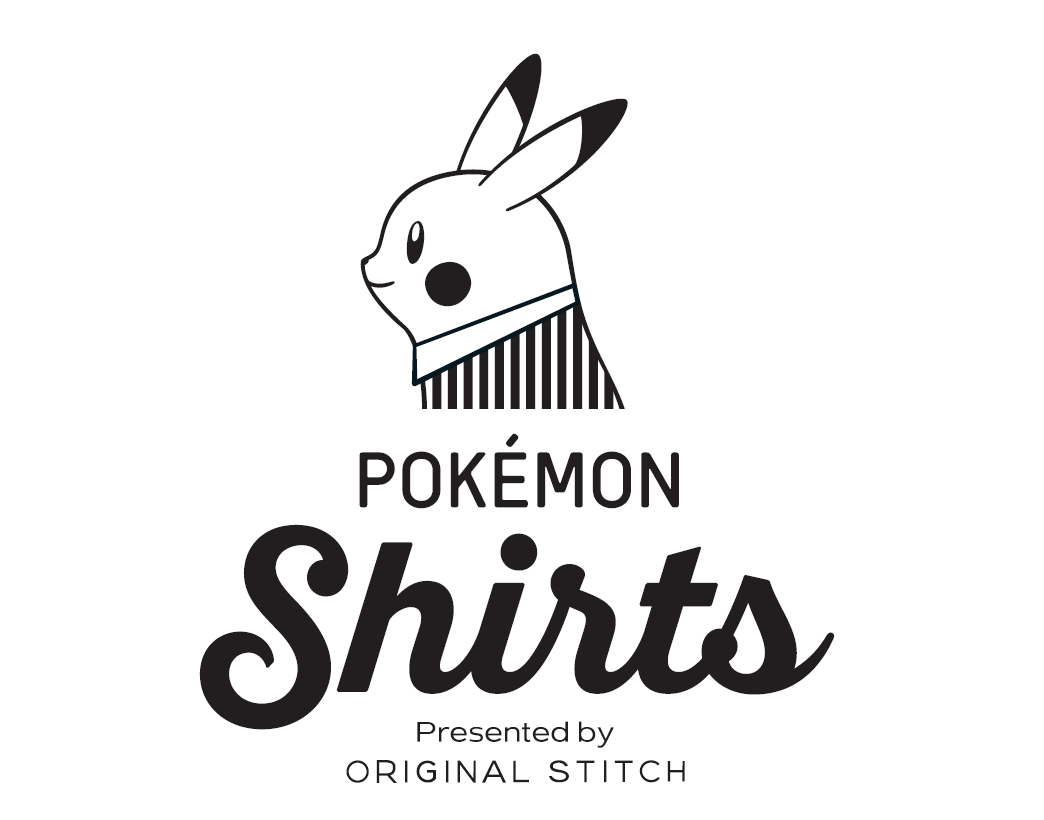 The pokémon shirts are created with a new open neck style with all 151 of the original pokémon available for the designs