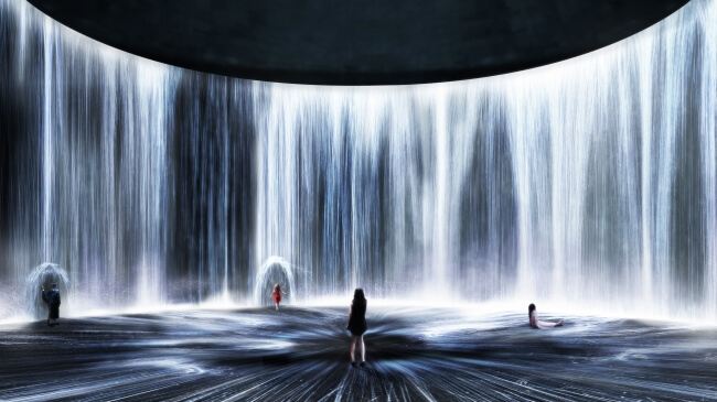 teamLab Unveils Opening Exhibition for New Art Museum TANK