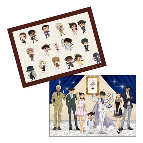 名探偵コナンカフェ 2019 Detective Conan【カフェご利用特典】オリジナルランチョンマット(ランダム2種)