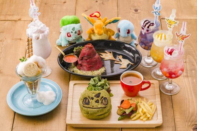 ポケモンカフェ Pokemon cafe 日本橋 Nihonbashi_ピカチュウ フシギダネ