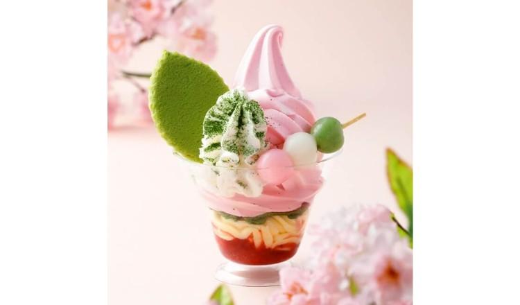 祇園辻利 春色そふと tsujiri spring icecrem