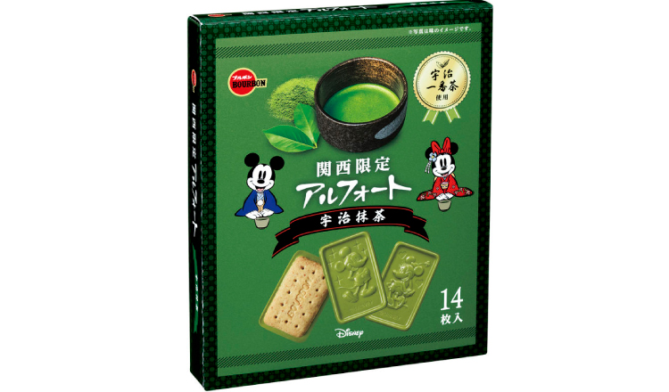 関西限定アルフォート 宇治抹茶-Match-