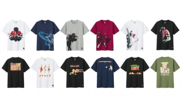 Camisetas De Street Fighter Lanzadas Por La Marca Ut De Uniqlo Moshi Moshi Nippon 'しもしにっぽん