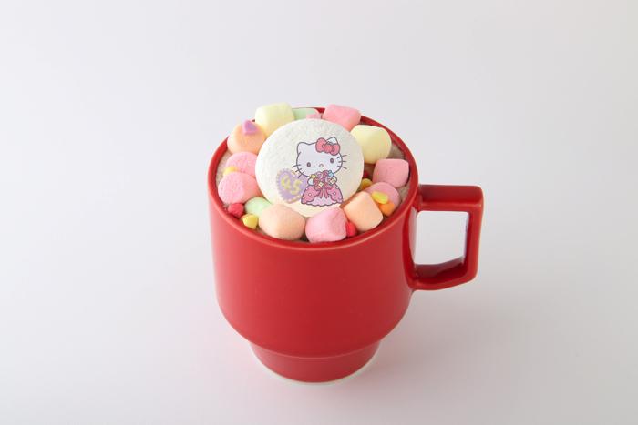 ハローキティ マシュマロホットチョコレート Hello Kitty copy