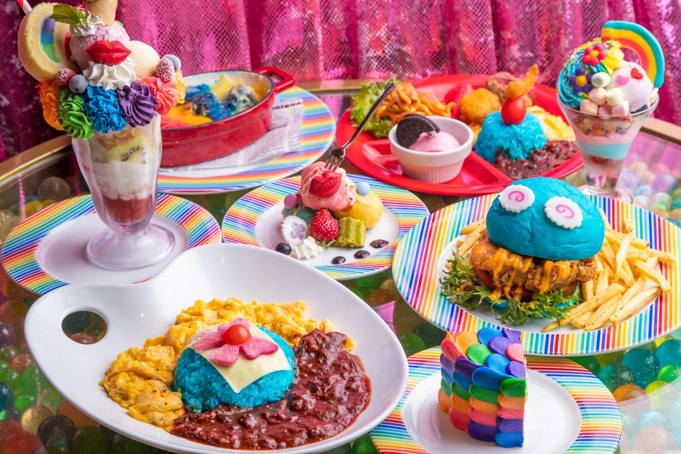 Kawaii Monster Cafe Unveils Rainbow Coloured Menu For Golden