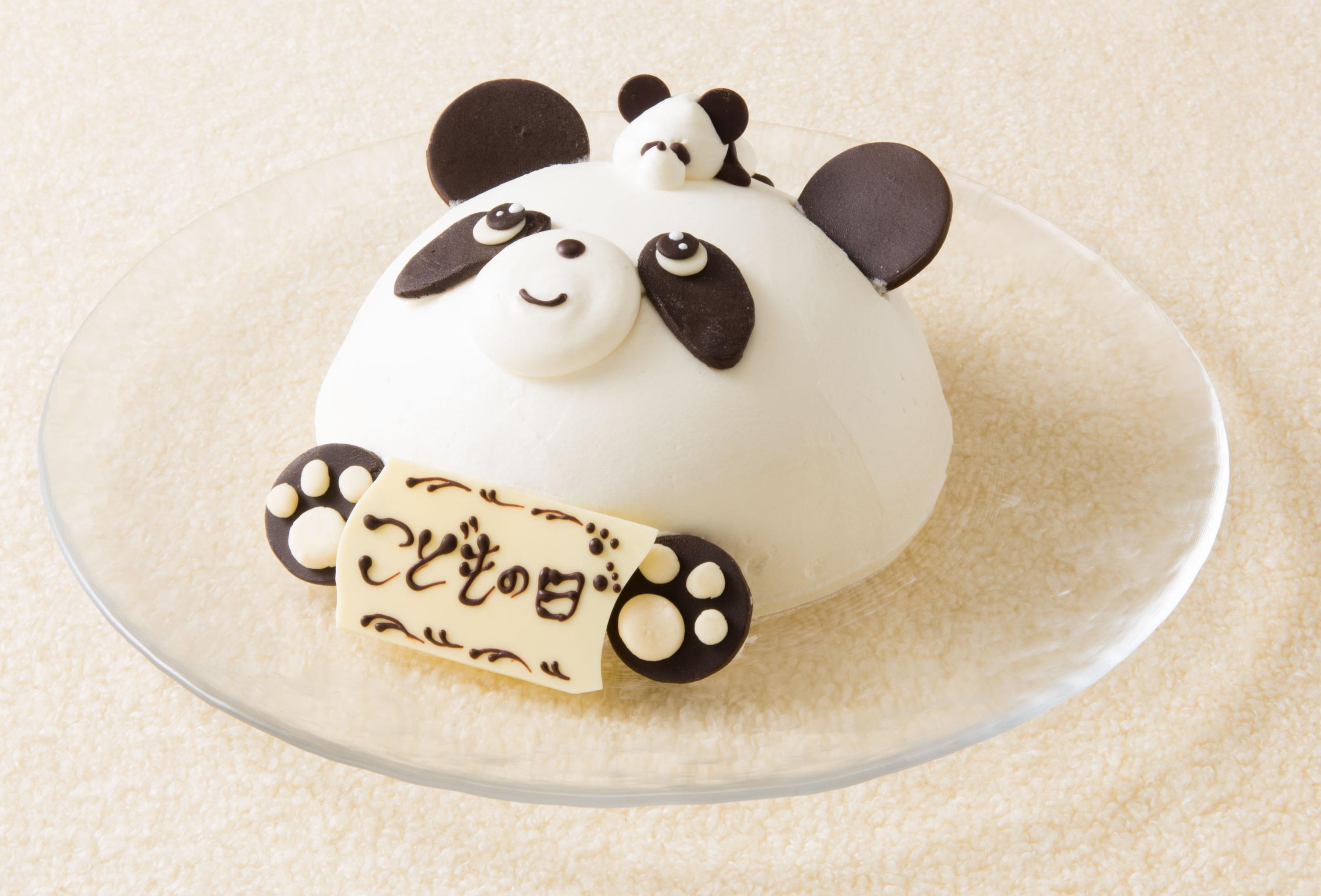 リーガロイヤルホテル東京 親子でパンダフルケーキ legaloyal hotel tokyo oyako de pandaful cake