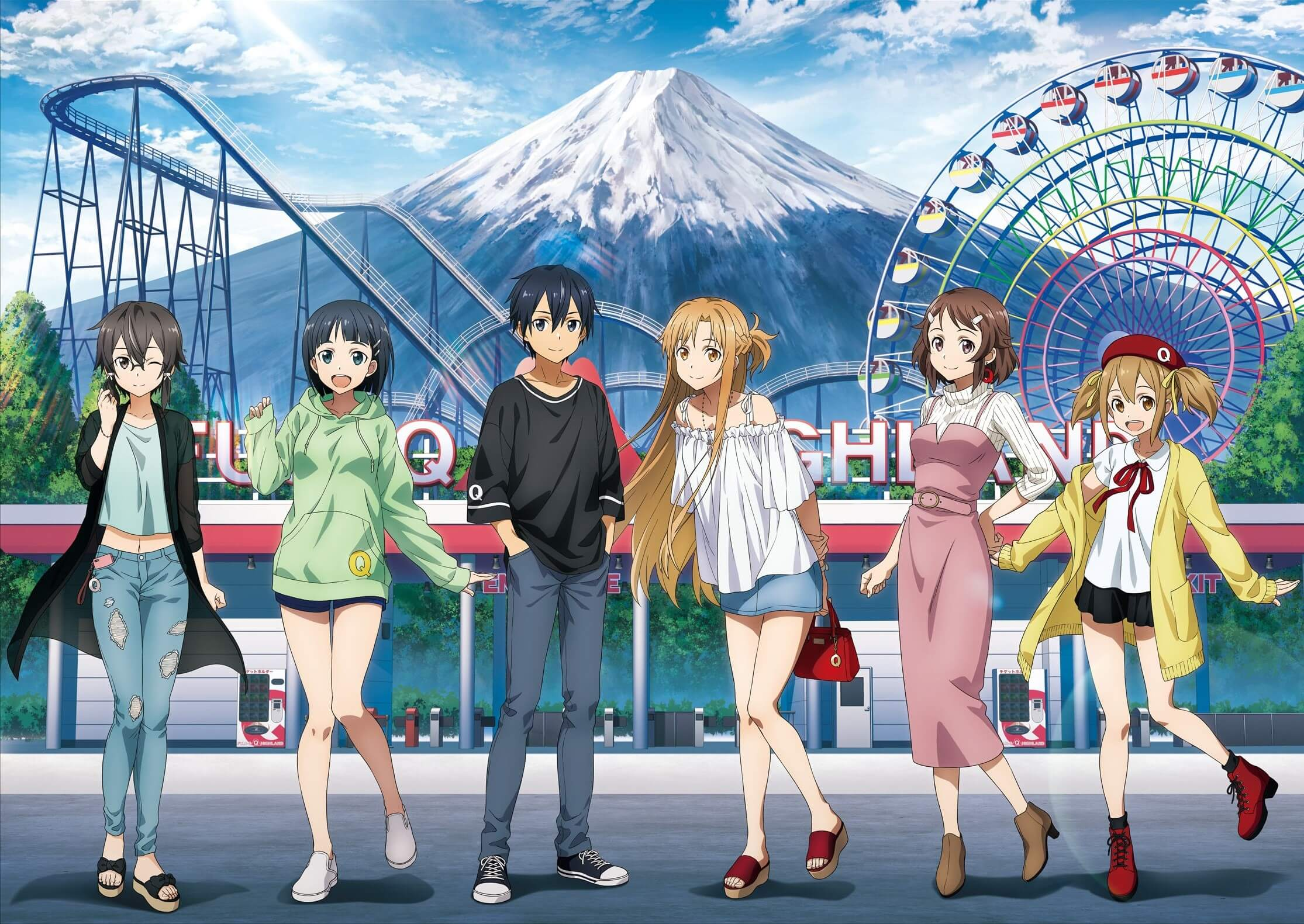 Sword Art Online: Alicization Collaborates With Fuji-Q Highland