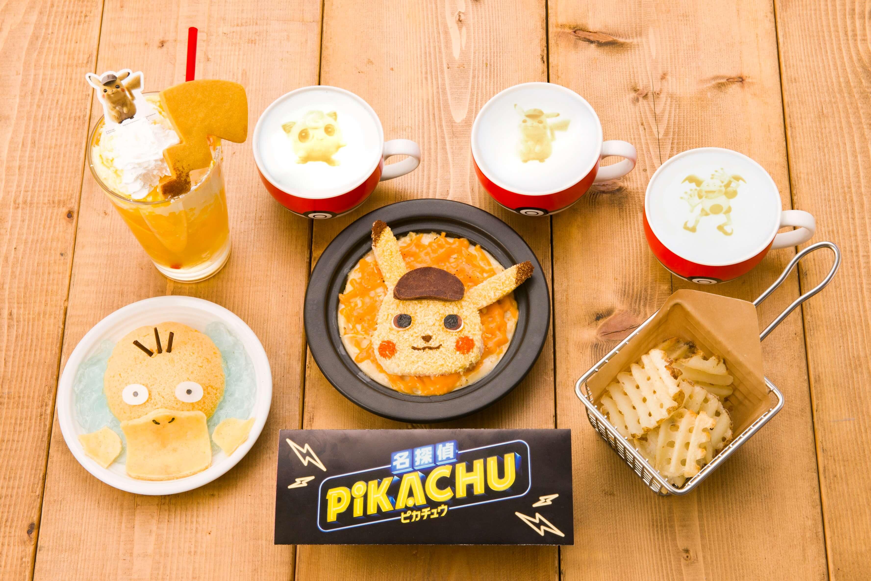 pokemon cafe  ポケモンカフェ 名探偵ピカチュウ meitantei pikachu main 限定メニュー gentei menue