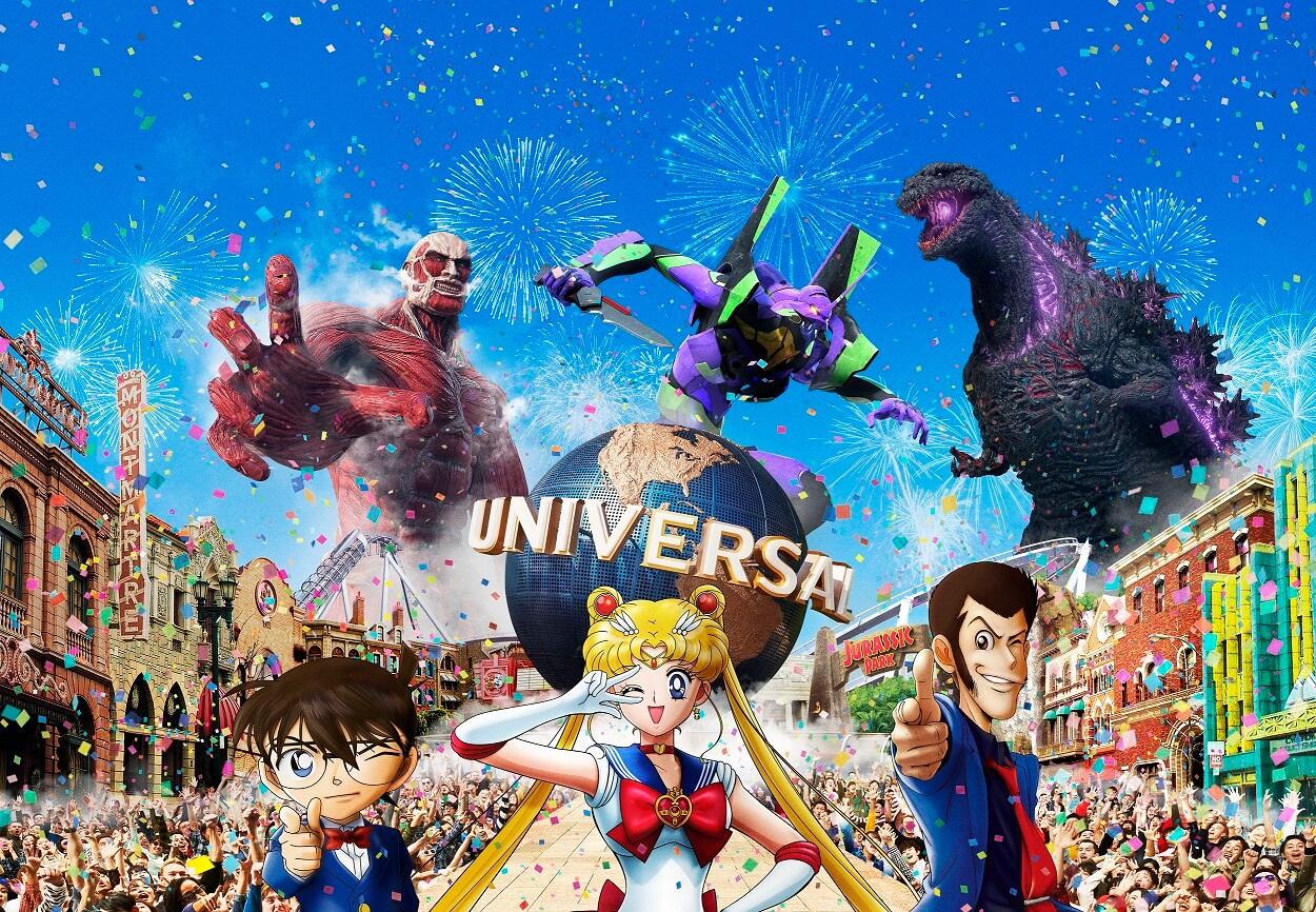 ユニバーサルスタジオジャパン クールジャパン 新アトラクション universal studio japan cool japan new attractionmain