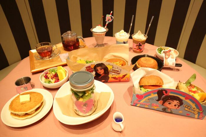 シュガー・ ラッシュオンライン MovieNEX発売記念OH MY CAFE Wreck-It Ralph10