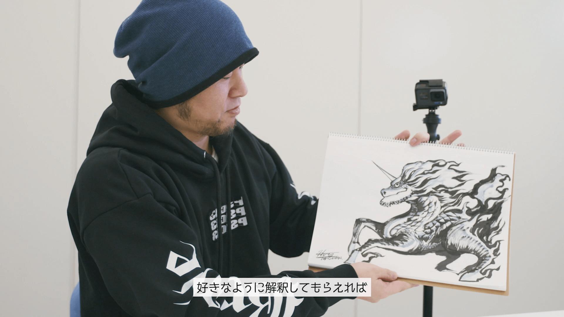 真島ヒロ先生・キリンの聖獣真剣お絵描き60分一本勝負 Mashima Hiro8