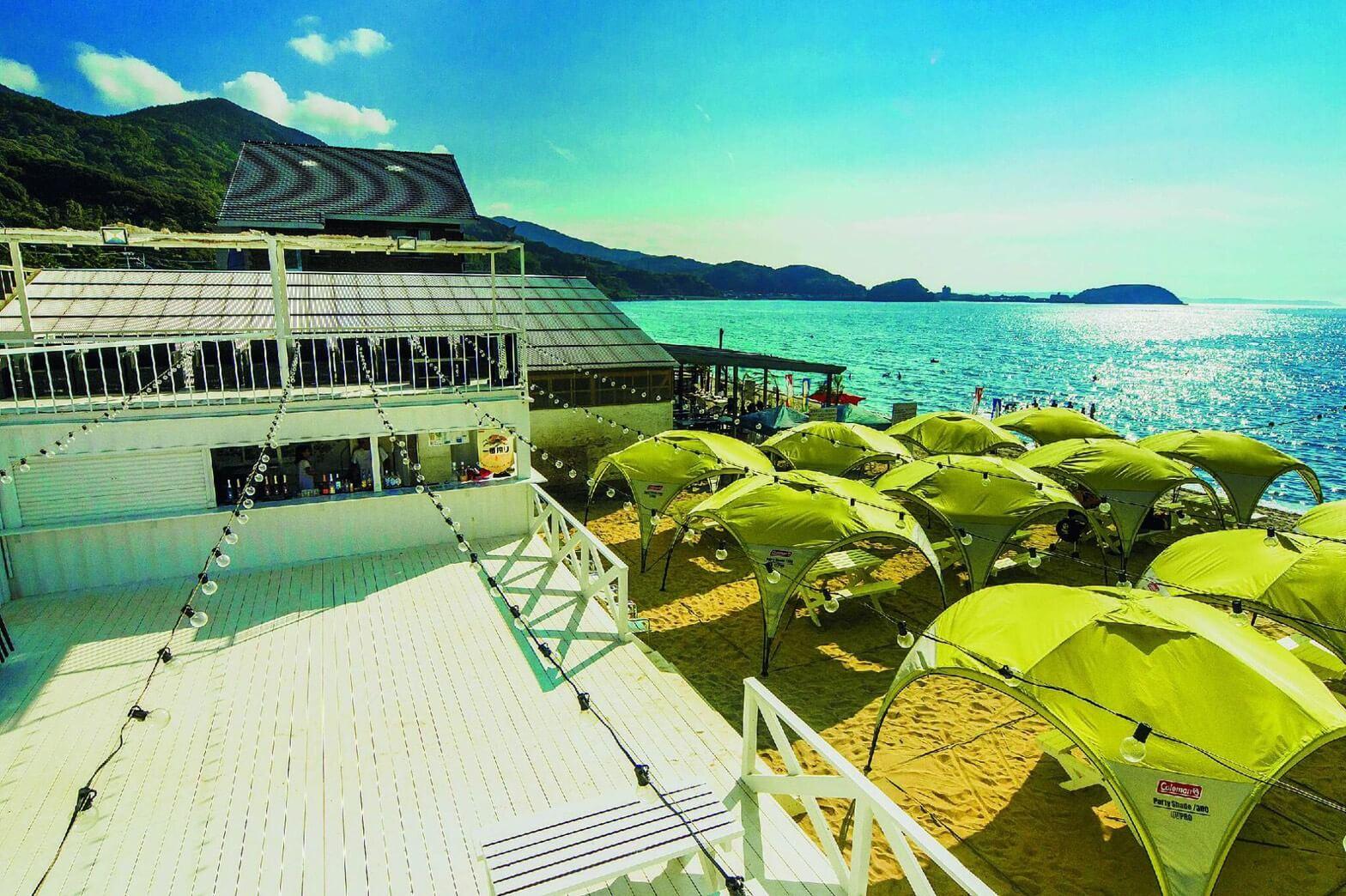 海 糸島のavex beach paradise FUKUOKA