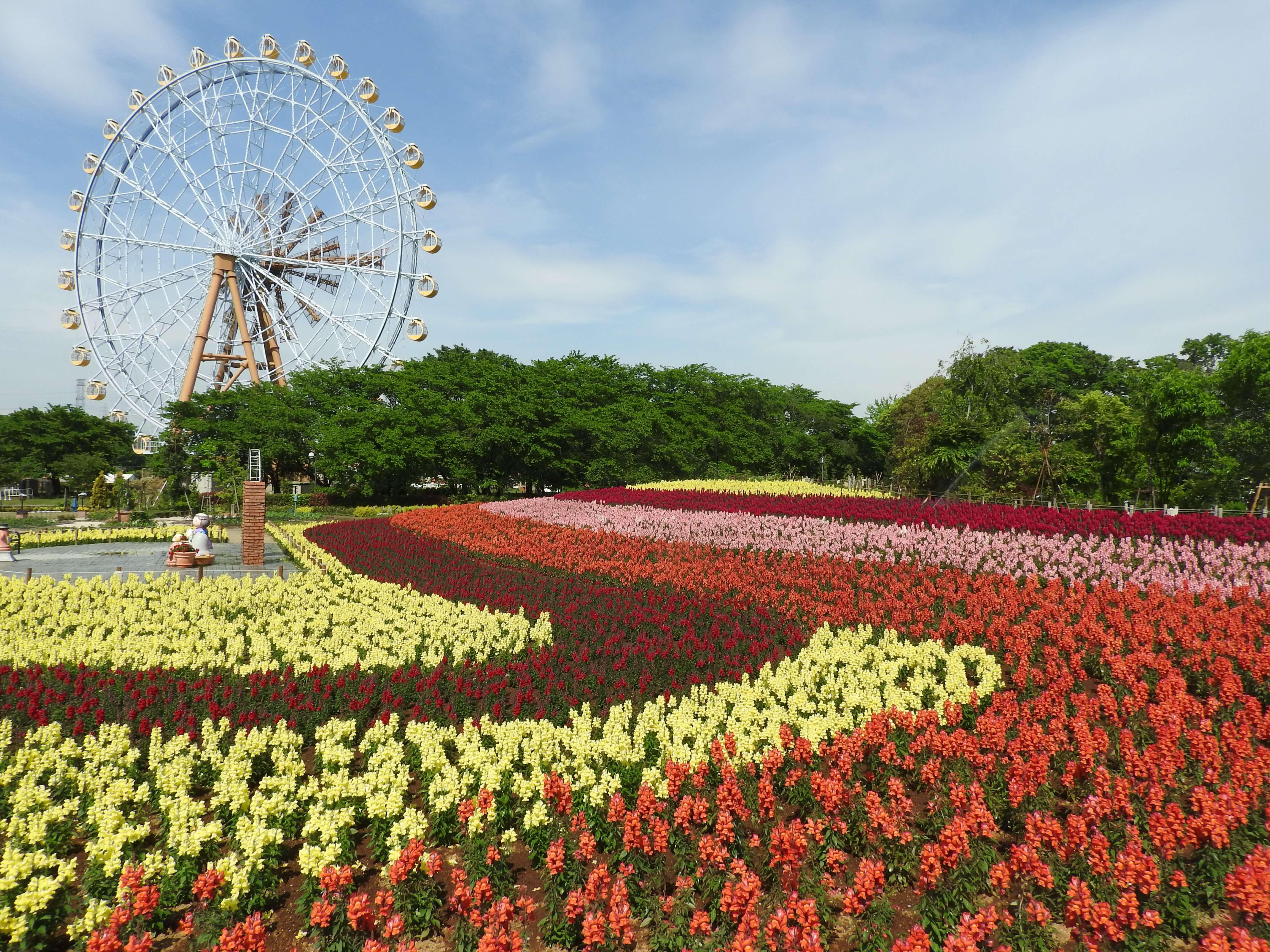東武動物公園 tobu dobutsu koen キャンバスガーデン campus garden