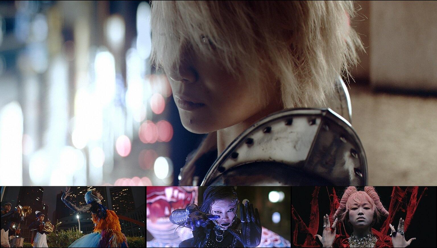 椎名林檎 Sheena ringo「鶏と蛇と豚」MV場面カットs