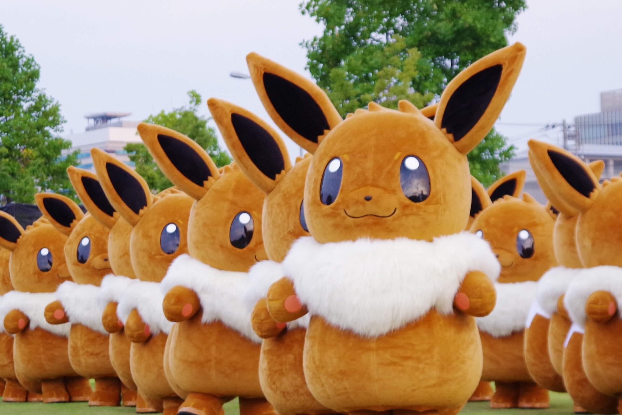 Pikachu Outbreak Event 2019 | Pokémon GO Fest in Yokohama | MOSHI
